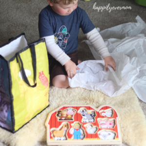 Unwrapping Puzzles: An Irresistibly Fun Toddler Activity