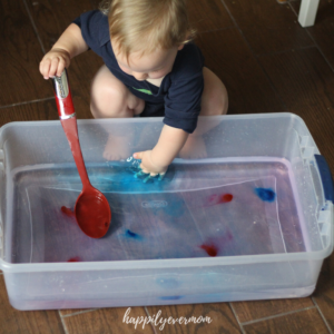 Magic Water: A Fun Baby Activity with Water