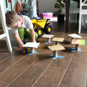 Engineering with Trash: A Low-Prep, Learning Activity for Toddlers