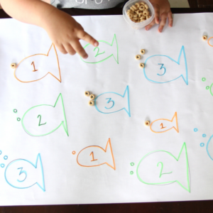 Cheerio Bubbles: A Tasty Learning Activity for Toddlers
