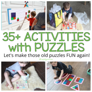 35+ Mind-Blowing Puzzle Activities for Kids!