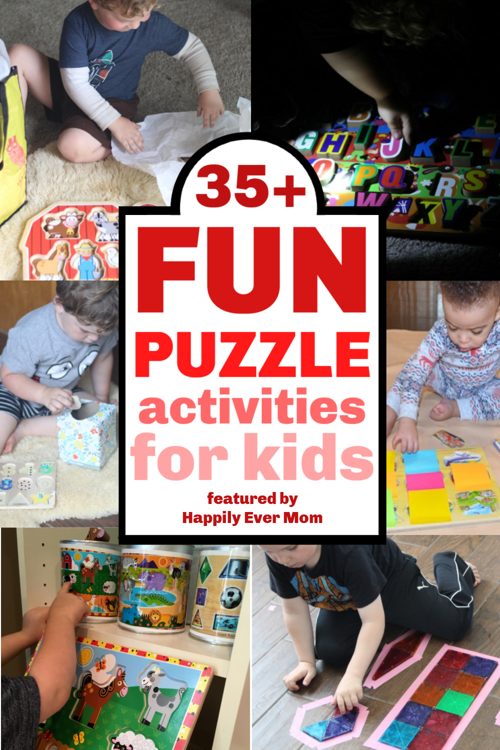 SOO good! Love these puzzle activities for my toddler!