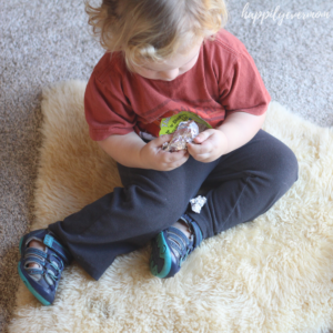 Aluminum Foil Surprise: A fun toddler activity!